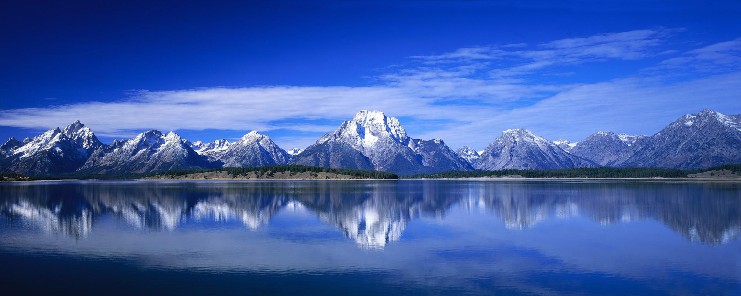 Panoramic Wallpaper Dual Monitor Mountain