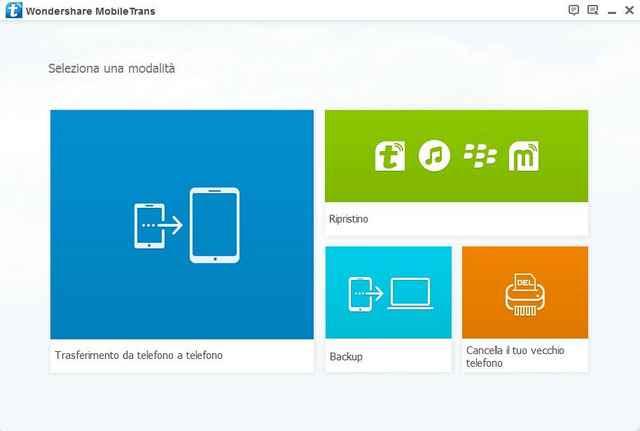 Spostare I Dati Dalla Configurazione Del Telefono Android