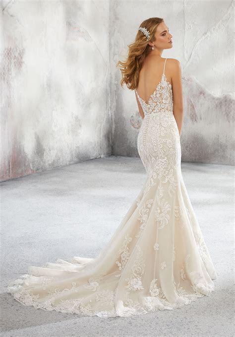 Lunetta Wedding Dress   Style 8292   Morilee