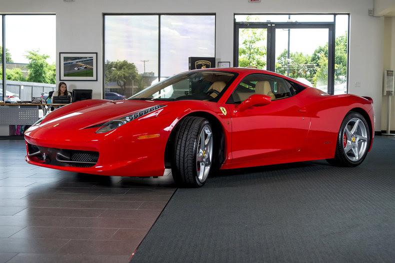 Used 2010 Ferrari 458 For Sale Richardson,TX  Stock LT0775 VIN: ZFF67NFA2A0175890