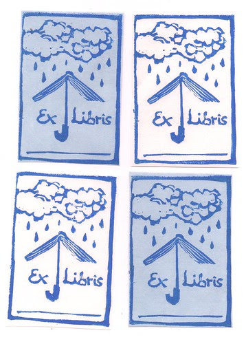 rainy day bookplates