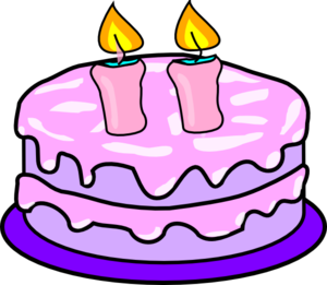 Birthday Cake With Candles Clip Art Royalty Free Gograph