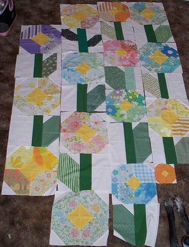 quilt progress