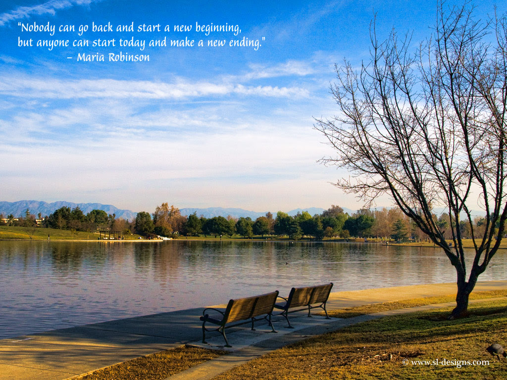 Nobody Can Go Back And Start A New Beginning Life Quotes