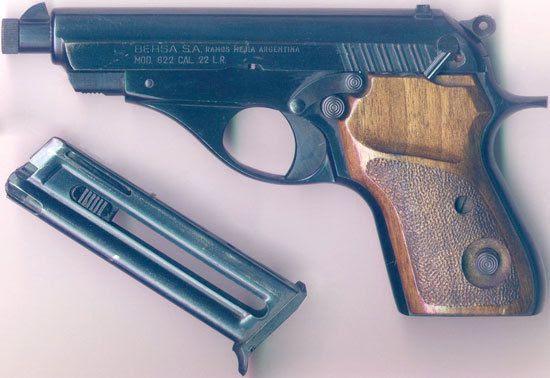 Resultado de imagen para el arma de nisman