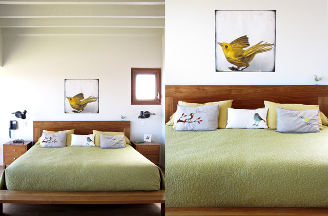 Our birdroom, I mean bedroom ;)