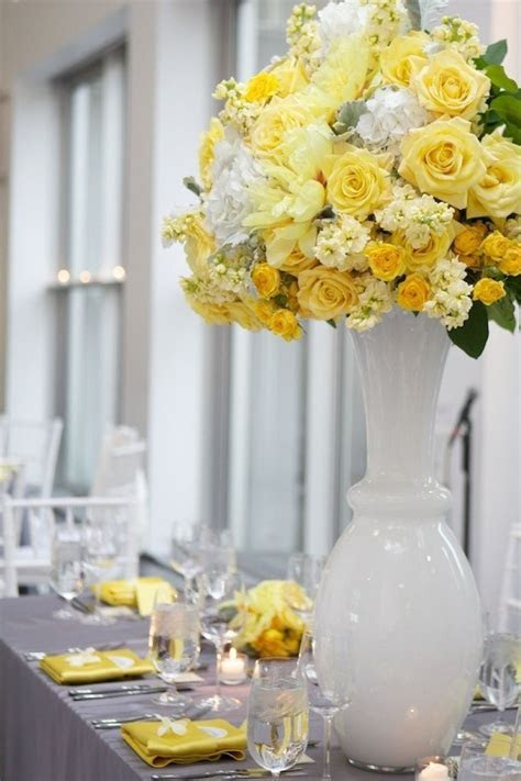 91 best images about Yellow and Gray wedding ideas on