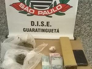 Tráfico de Drogas (Foto: Divulgação/ DISE)