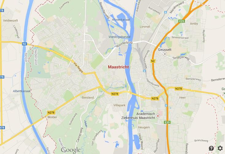 Map Of Maastricht