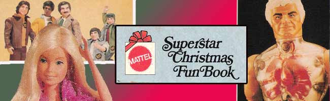 mattel 1976 christmas fun book