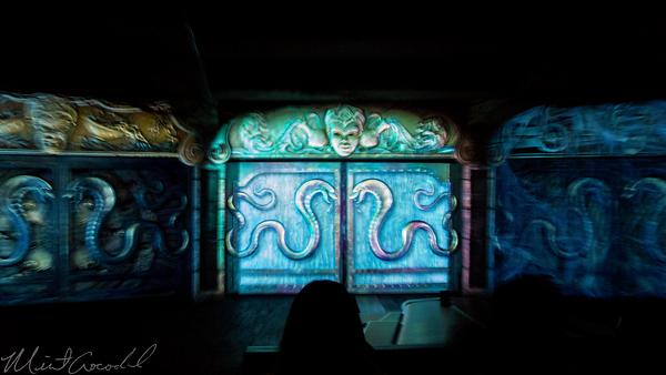 Disneyland Resort, Disneyland60, 60, Anniversary, 24, Hour, Party, Celebration, Kick, Off, Disneyland, Indiana, Jones, Adventure, Adventureland, Chamber, Destiny, Door, Projector, Map, Mapping