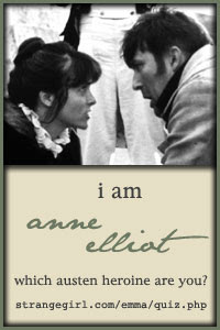 I am Anne Elliot!