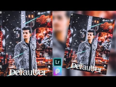 Defaulter Picsart New Manipulation Editing, Lightroom Presets Mobile edi...