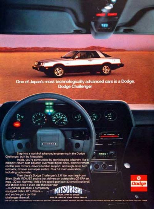 Way Back Wednesday Gallery: Vintage 80′s Car Ads  Car Tips