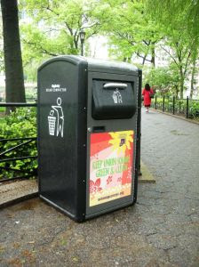 Solar Trash Compactor in Union Square