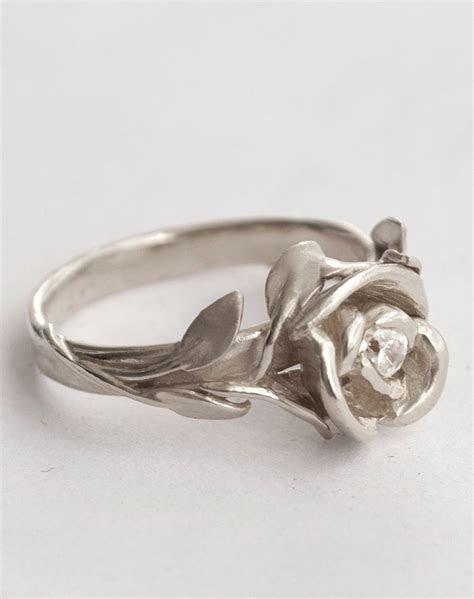 Rose Engagement Ring No.1   Rose Gold engagement ring