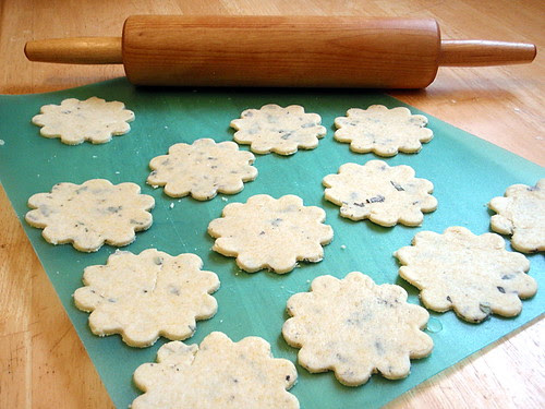 Rolled-out cookies