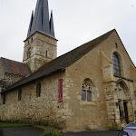 L'église restaurée à Chamery