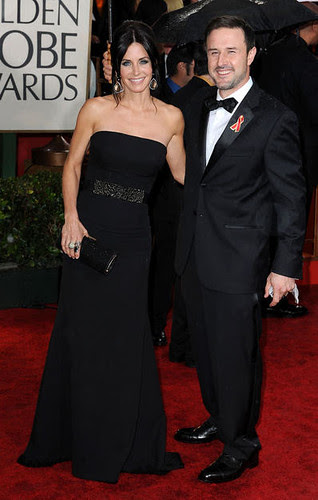 Courteney Cox & David Arquette at the 67th Golden Globe Awards
