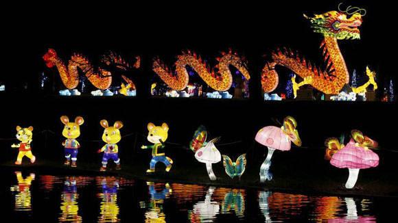 Celebración de año nuevo chino. Foto: Peter Nicholls/Reuters.