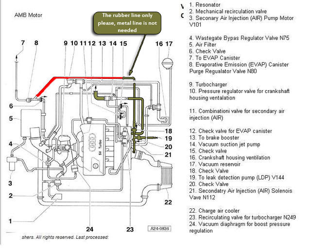 Audi Engine Diagram Audi A4 1 8 Wiring Diagram Frankmotors Es
