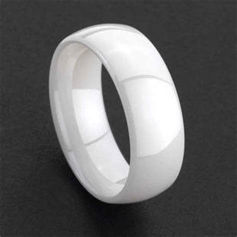 New Hi Tech White Ceramic Rings Men/Women Wedding Band(id