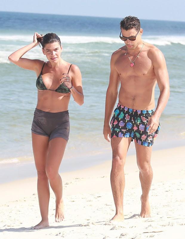 Mariana Goldfarb e Cauã Reymond (Foto: AgNews)