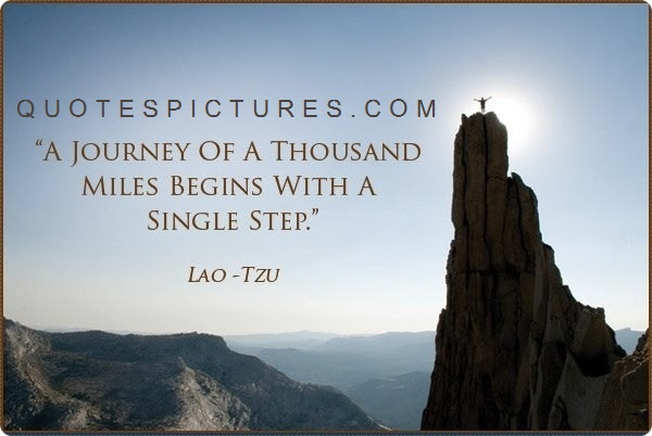 Awesome Wisdom Quote Life Journey Begins With Single