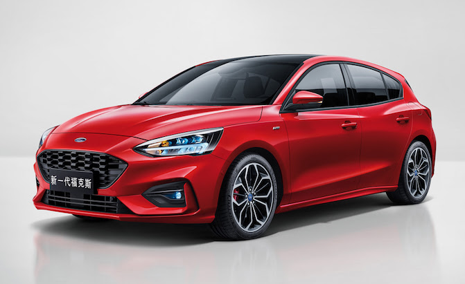 New Ford Focus Heads to North America in 2019 » AutoGuide ...