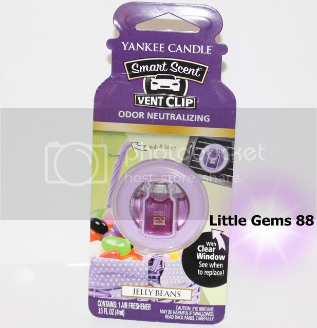 YANKEE CANDLE CAR * Smart Scent Vent Clips * AIR FRESHENER ...