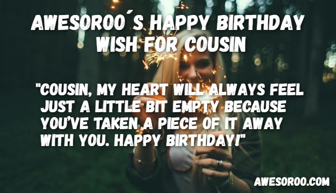 204 Best Happy Birthday Cousin Status Quotes Wishes Feb 2018