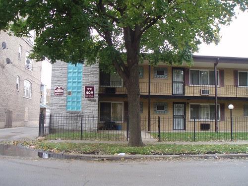 South side breezeway building