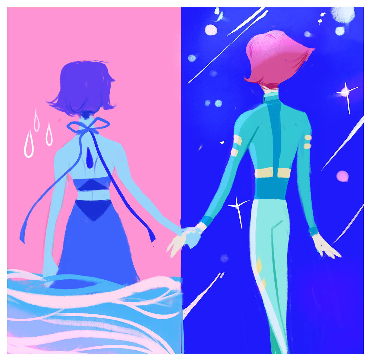 pearlapis bomb day four: Ocean / Space @pearlapisbomb