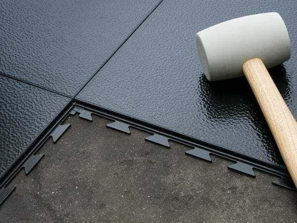 Disc And Belt Sander Garage Rubber Flooring