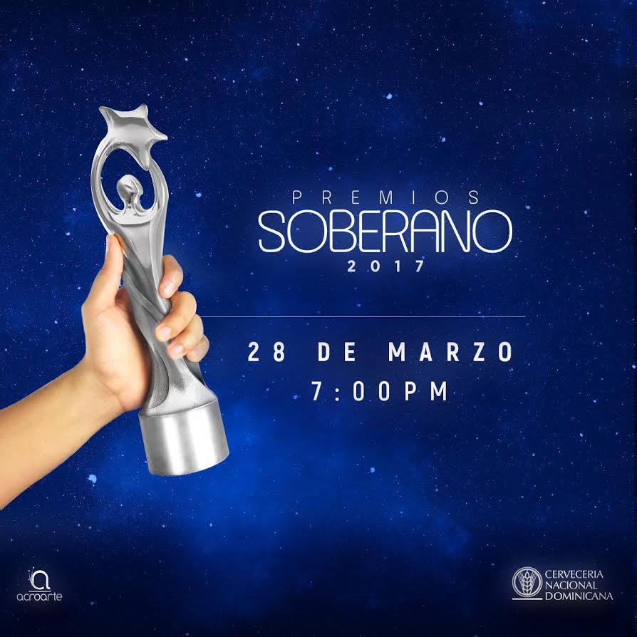 Todo está listo para la entrega este martes de los premios Soberano 2017