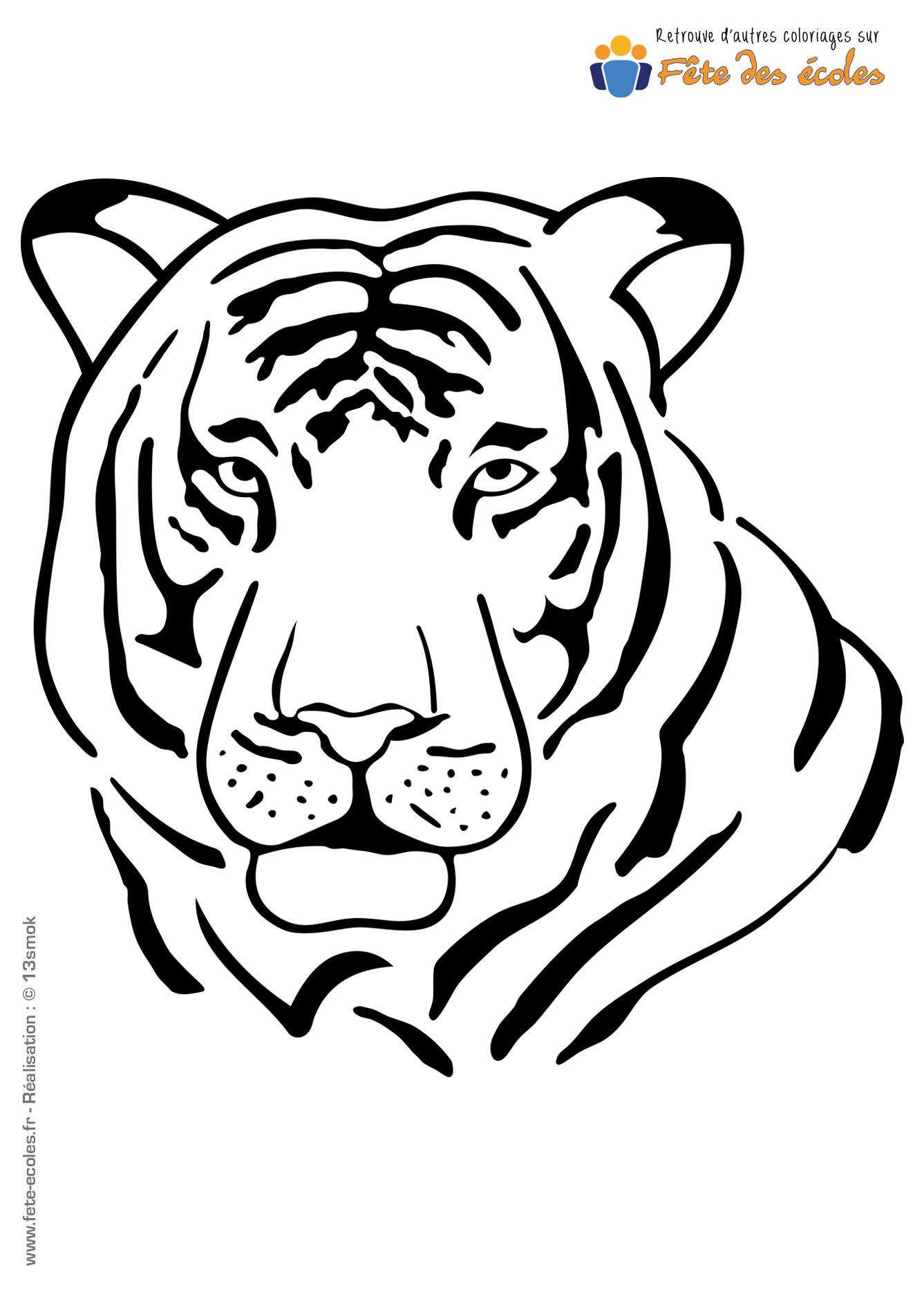 Dessin Facile Tigre A Dent De Sabre - Dessin Facile