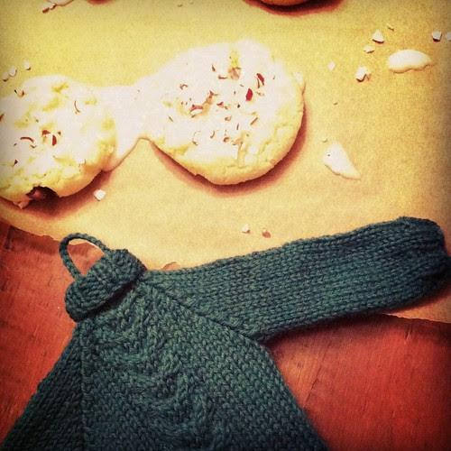 cookies and mini apron