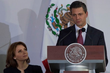 Angélica Rivera y Enrique Peña Nieto. Foto: Octavio Gómez