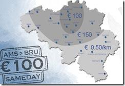 koeriersdienst nederland belgië