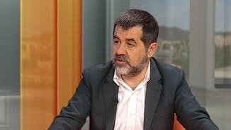 Jordi Sànchez, al plató del canal 3/24