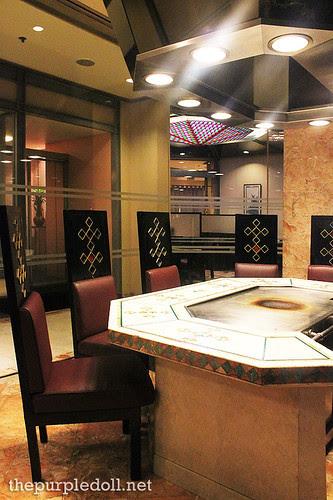 Yurakuen Teppanyaki Room