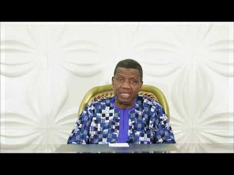 Death is not a function of Age, Adeboye breaks silence on son's death (Video)
