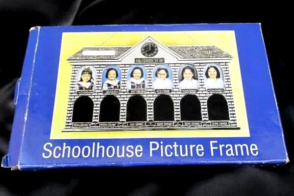 Swedemom Schoolhouse Picture Frame Metal 1st Grade To 12th Grade
