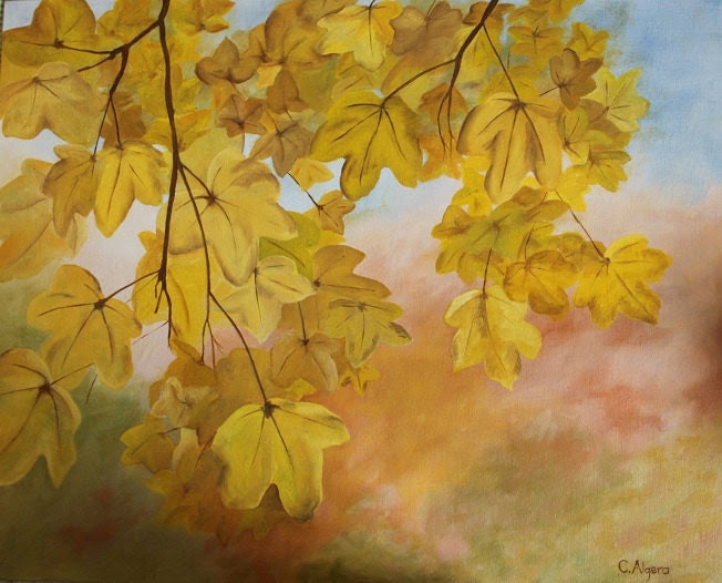 Autumn leaves - CecilyAlgera