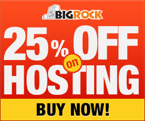 Enjoy 25% off on Web Hosting