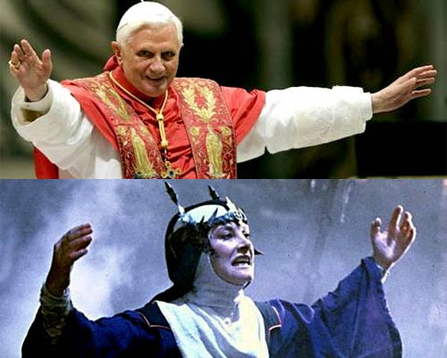 Benedict XVI vs Bavmorda | Tacky Harper's Cryptic Clues