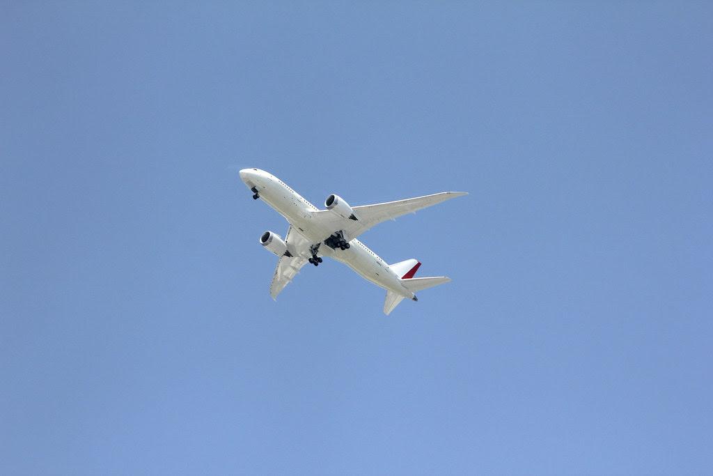 Maiden voyage of the 1st North Charleston-made Boeing 787 Dreamliner