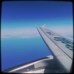 On the way to Sardinia