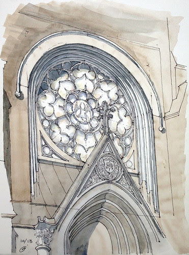 Rose Window by James Anzalone