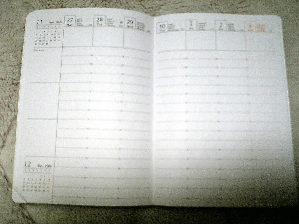Mark'schedule
